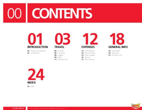 98 best images about page numbers table of contents on for Table of contents design