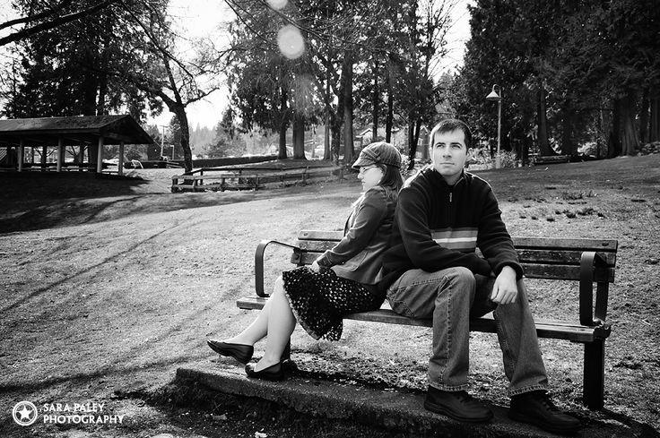 Deep Cove, North Vancouver couples engagement photos