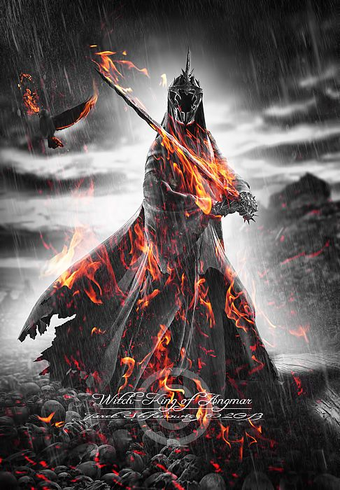 Witch-king of Angmar by jaro78.deviantart.com on @deviantART