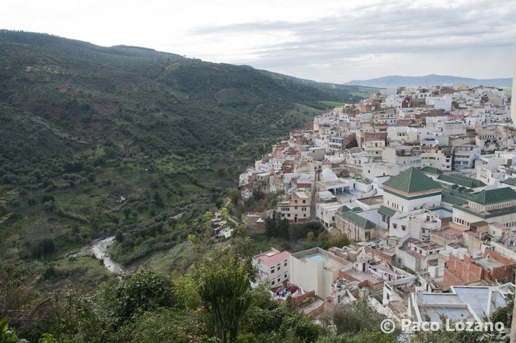 View of Moulay Idriss : World Travel Pictures