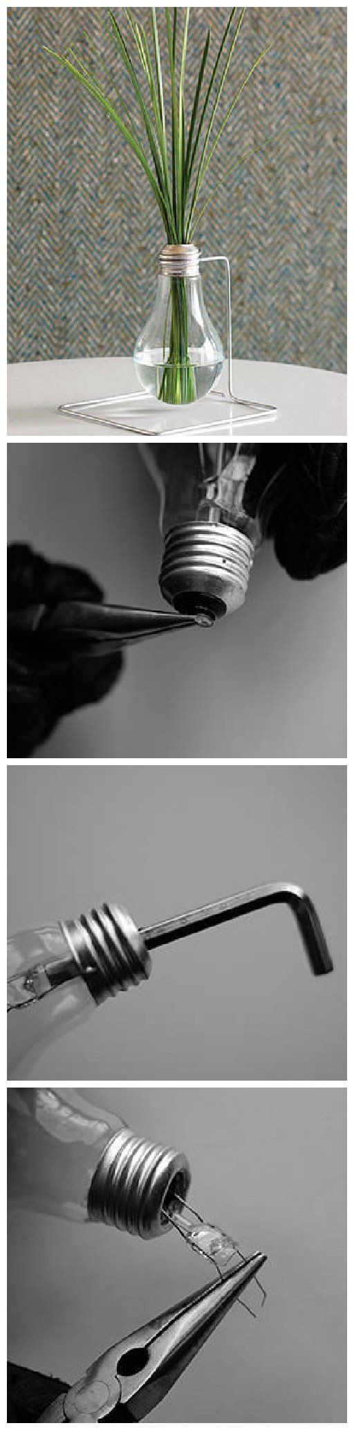 #Bulb, #DIY, #Light, #Vase