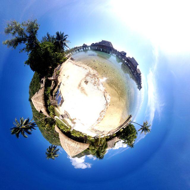 Moorean Beach - Moorea, Tahiti