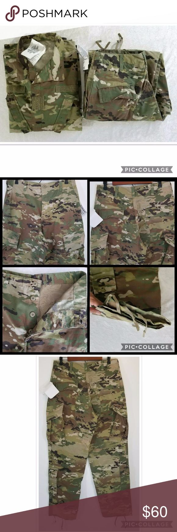US Army woodland OCP uniform New with tag! OCP ACU is non-flame resistant made of 50% nylon and 50% cotton. To combat insect and tick borne diseases, ACUs are factory treated with permethrin insecticide. Sizes in pictures. Smoke free home. Bluewater Defense Other