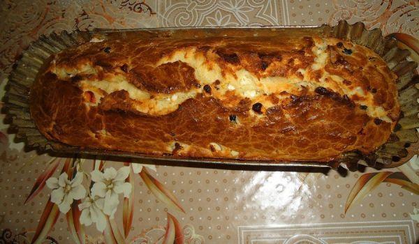 Вкусен солен кекс за закуска - Рецепта. Как да приготвим Вкусен солен кекс за закуска. Кликни тук, за да видиш пълната рецепта.
