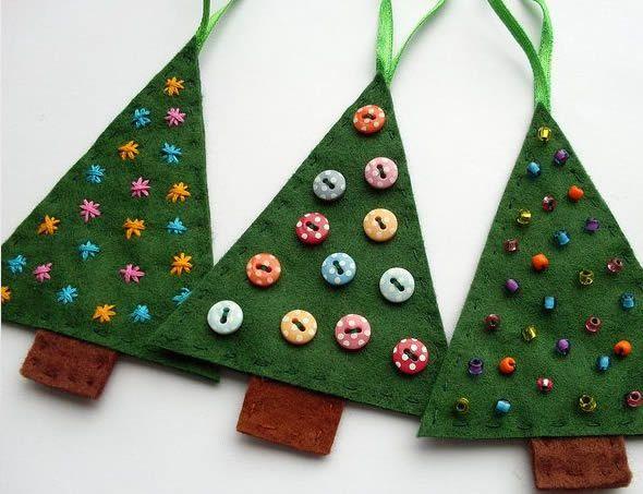 Criando Árvore de Natal em feltro passo a passo