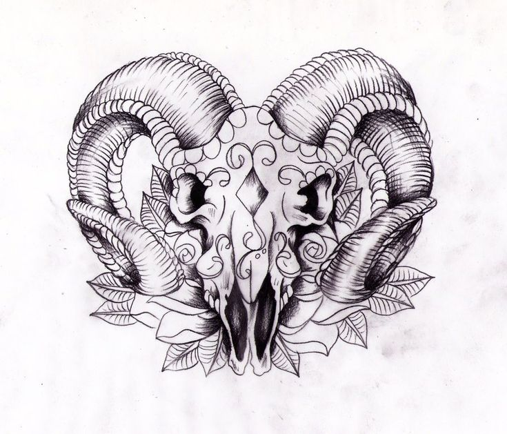 awesome aries tattoo designs