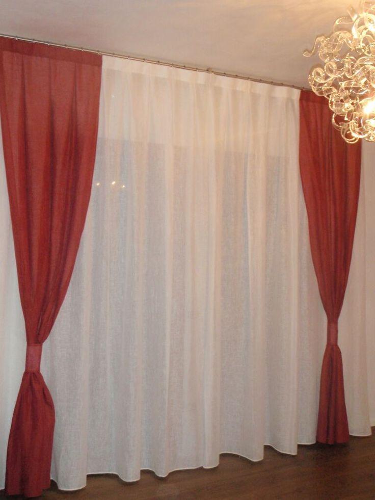 Calate rosso le nostre tende da interno pinterest rosso tende e idee - Idee per tende da interno ...