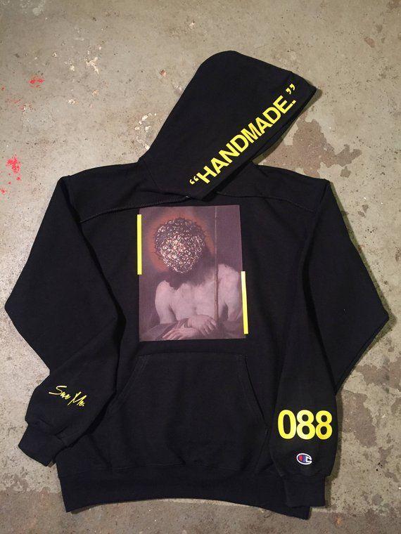 95e927435d7a bleach Long Sleeve Yeezus tour yeezy off white TLOP I feel like pablo ultra  light beam Wyoming supreme streetwear vlone sweatshirt hoodie