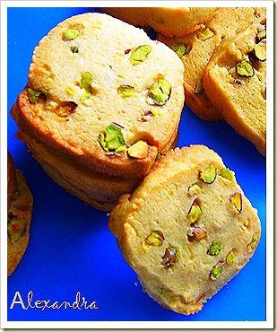 Cookies με φιστίκι Αιγίνης