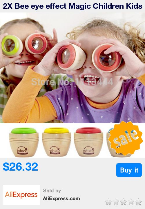 2X Bee eye effect Magic Children Kids Mini Wooden Kaleidoscope Toys safe Classic Toys fantasias infantis caleidoscopio * Pub Date: 07:08 Sep 13 2017