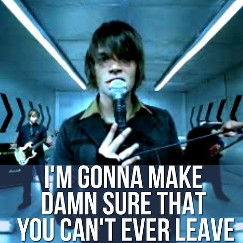 """MakeDamnSure"" by Taking Back Sunday 