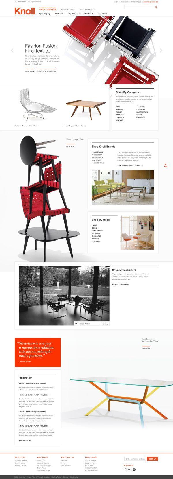 furniture websites design designer. Web Design Inspiration Furniture Websites Designer