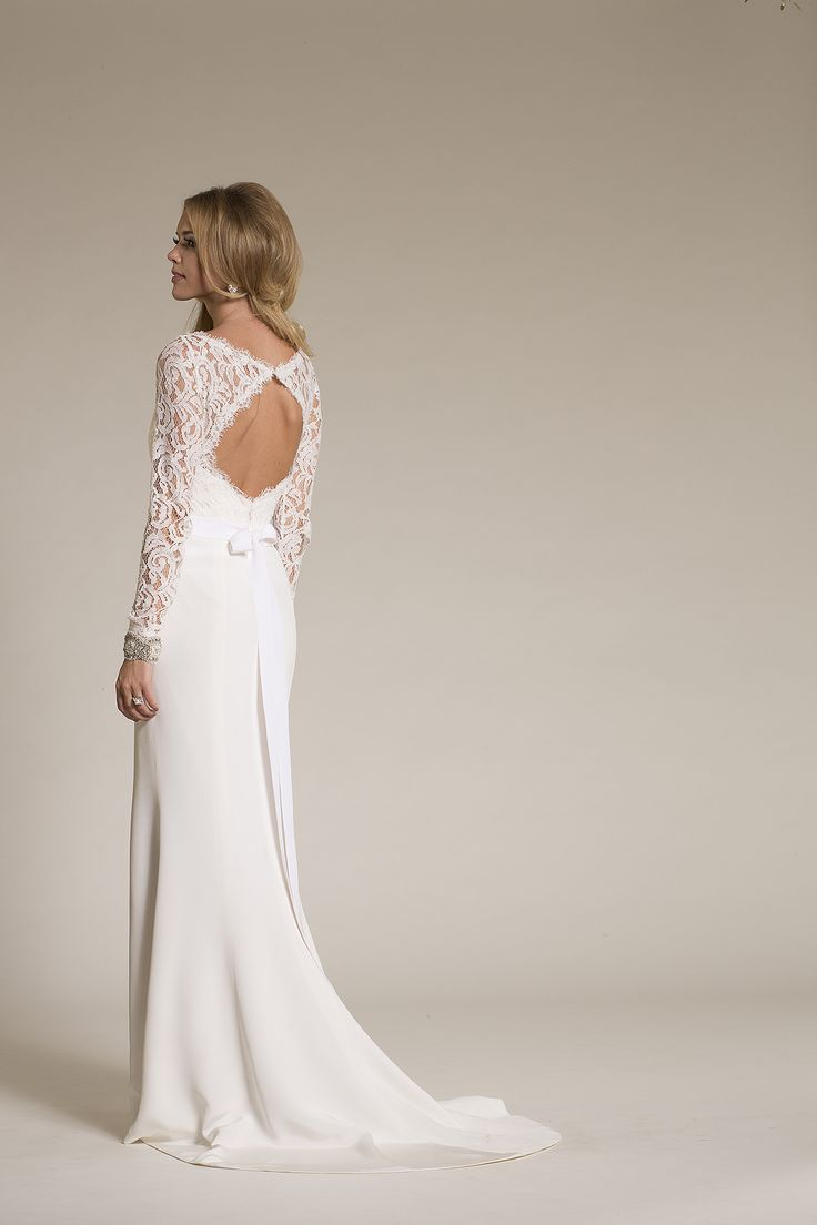 Amy Kuschel Bride Jules Gown back of dress with link