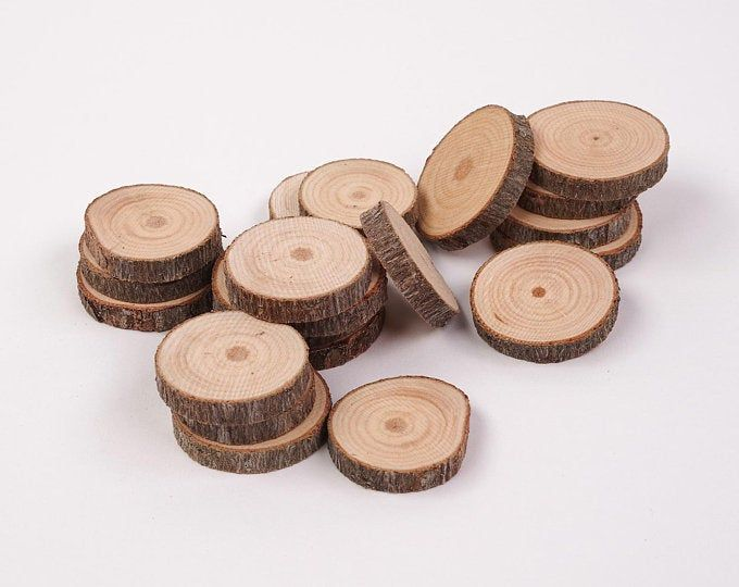 100 Discount Woodslices Assorted Pack Of Wood Slices Tree Slices Branch Slices Bulk Wood Slices Wood Rounds 100 Wood Slice Seconds Wood Slices Crafts Tree Slices
