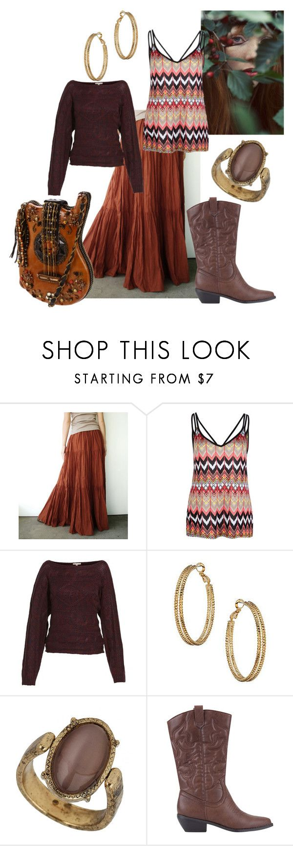 """""""FWF: Mary Frances Bag"""" by silkohapsi ❤ liked on Polyvore featuring Full Tilt, Mary Frances Accessories, Brave Soul, Wallis, Miss Selfridge, Soda and gypsy"""