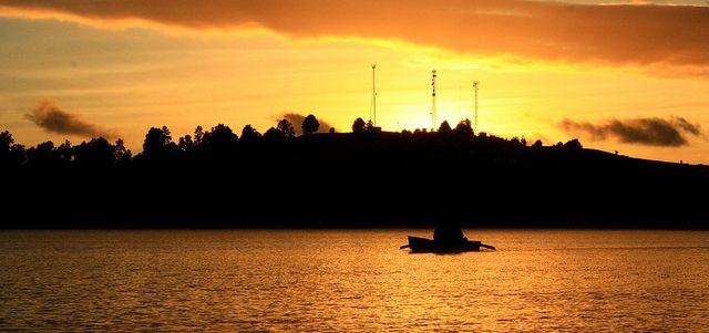 Atardecer en el Lago Puyehue | Flickr: Intercambio de fotos
