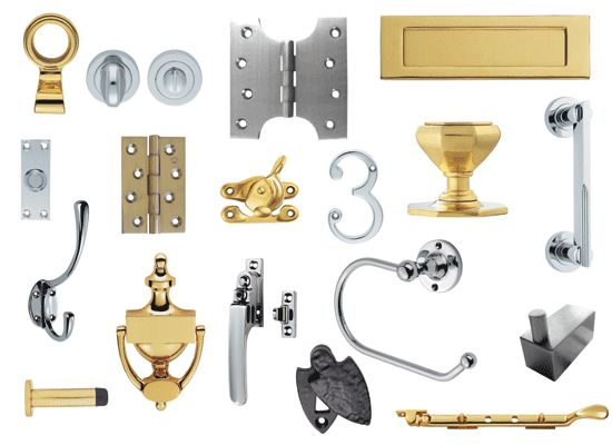 Ironmongery originally referred, first, to the manufacture of iron goods and, second, to the place of sale of such items for domestic rather than industrial use. In both contexts, the term has expanded to include items made of steel, aluminium, brass, or other metals, as well as plastics.