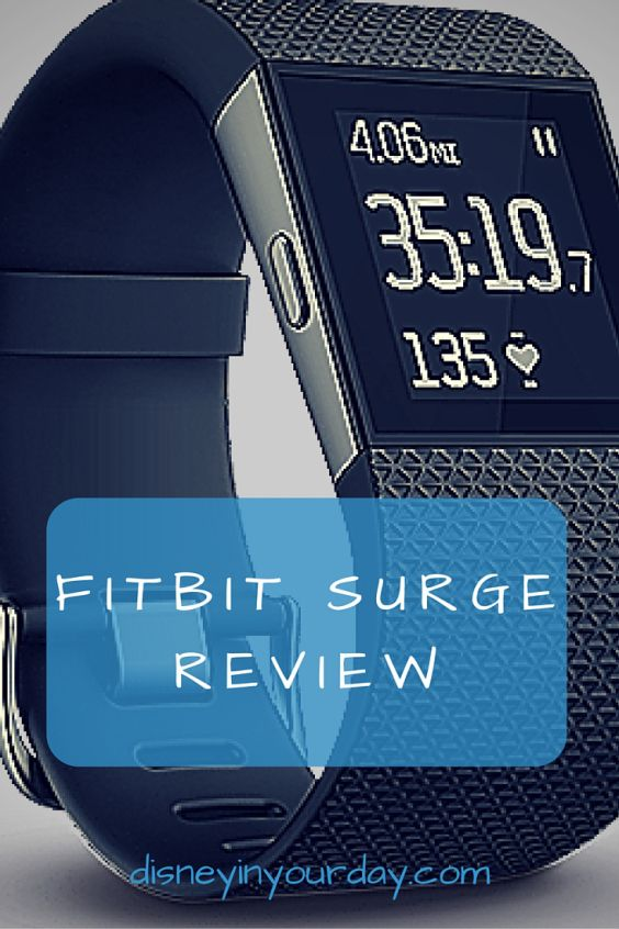 Fitbit Surge Review - details on the Surge and all of its functions.  The GPS and running settings, step counting, calorie burn estimates, heart rate monitor, and more!