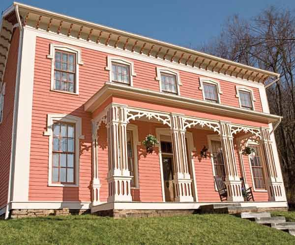 salmon color exterior house paint google search house