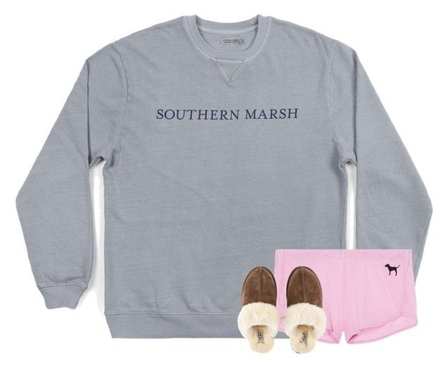 """""""Late night = lazy morning"""" by taymaccallister ❤ liked on Polyvore featuring UGG"""