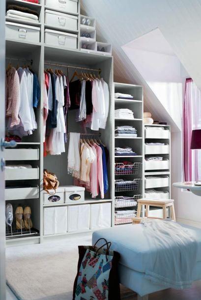 A white closet like this