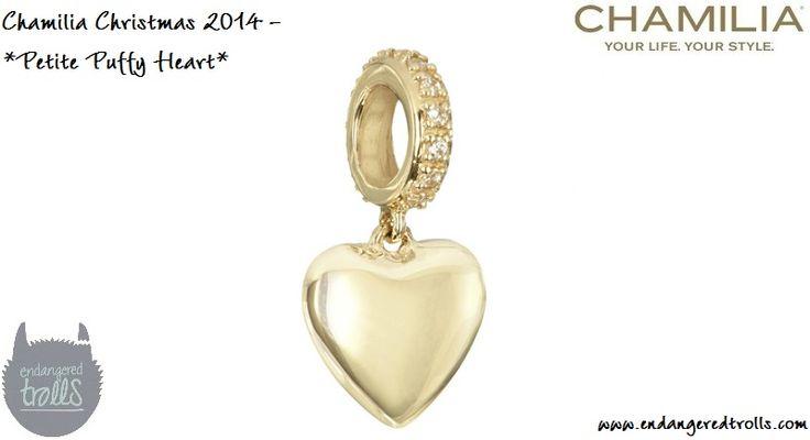 Chamilia Petite Puffy Heart