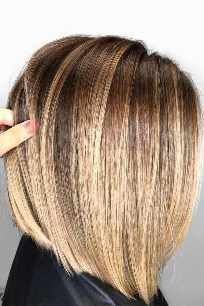 Frisuren für kurzes glattes Haar Party Frisuren   Mittellange glatte Frisuren 20190920