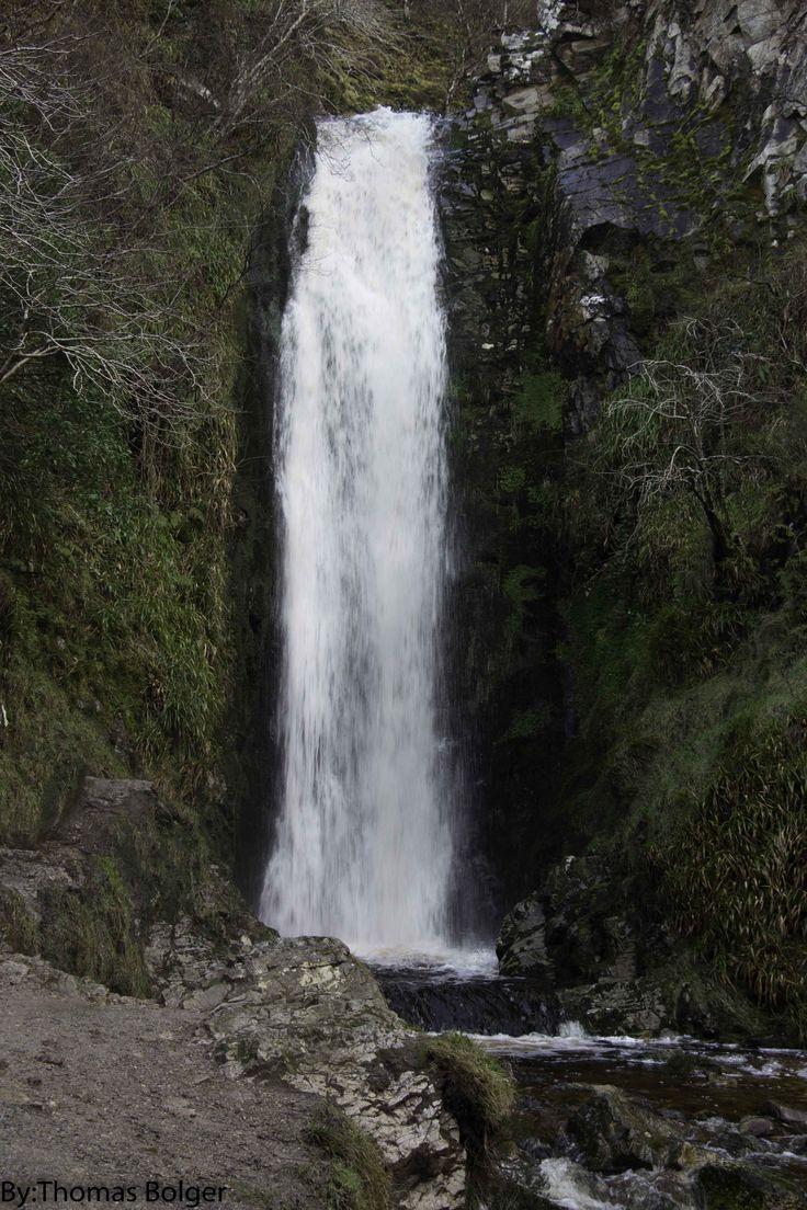 Glenevin waterfall