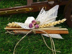 Picture of Χειροποίητες μπομπονιέρες γάμου κανέλες