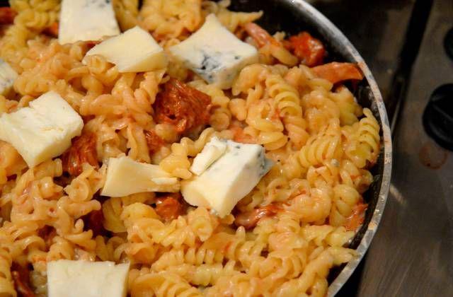 Recette des torsades aux girolles et au gorgonzola