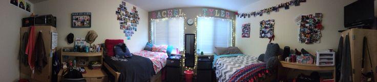My dorm room sophomore year #dorm #dormroom #college #girl
