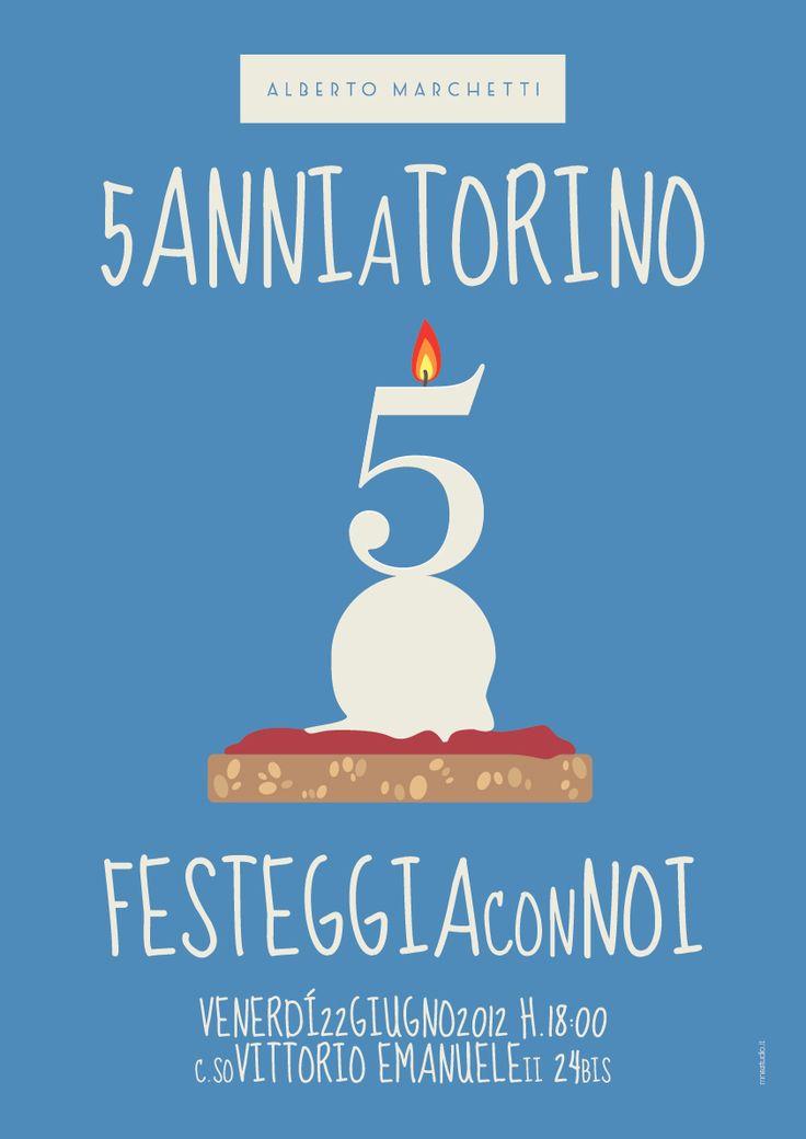 Buon Compleanno Alberto Marchetti | 5 anni a Torino. Happy Birthday Alberto Marchetti | 5 years in Turin.