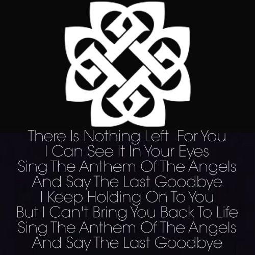 Breaking Benjamin - Anthem Of The Angels Lyrics | MetroLyrics