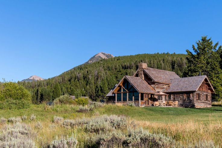 17 best images about montana ranches for sale on pinterest for Montana ranch house