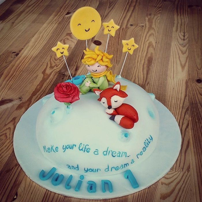 "Small ""little prince"" cake (Chocolate & vanilla)"