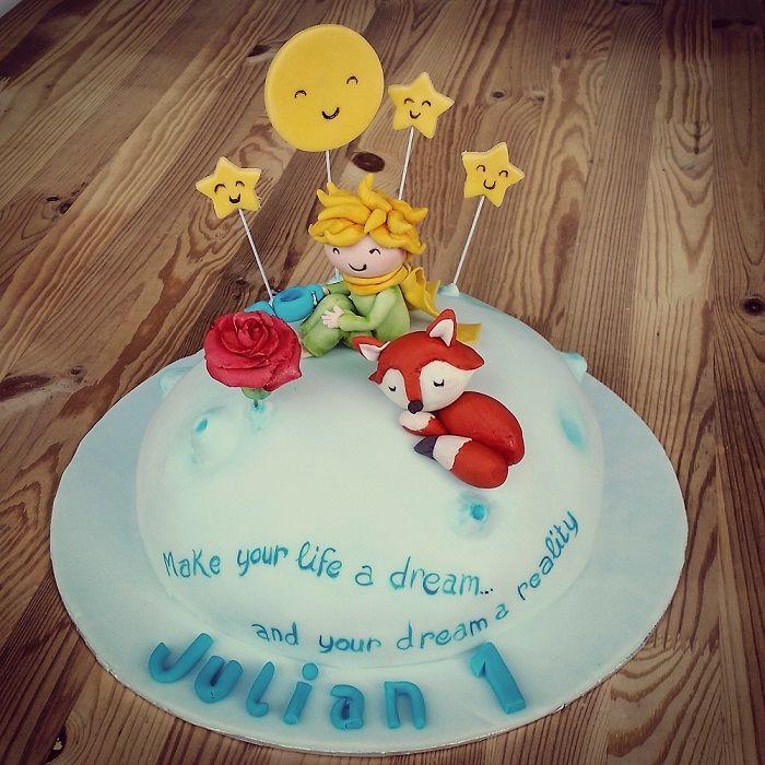 "Small ""little prince"" cake (Chocolate & vanilla)"