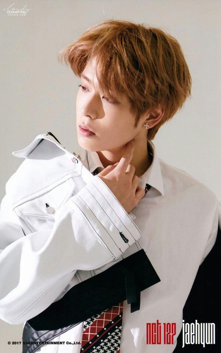 NCT 127  Jaehyun [ 정윤오 ] ㅡ CHERRY BOMB Photoset ⓐ version scan by. 흐린