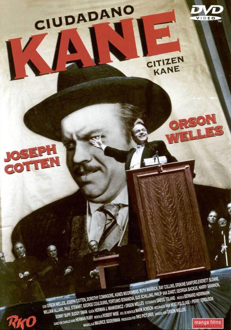 Ciudadano Kane (1941) EEUU. Dir: Orson Welles. Drama. Xornalismo. Películas de culto - DVD CINE 65