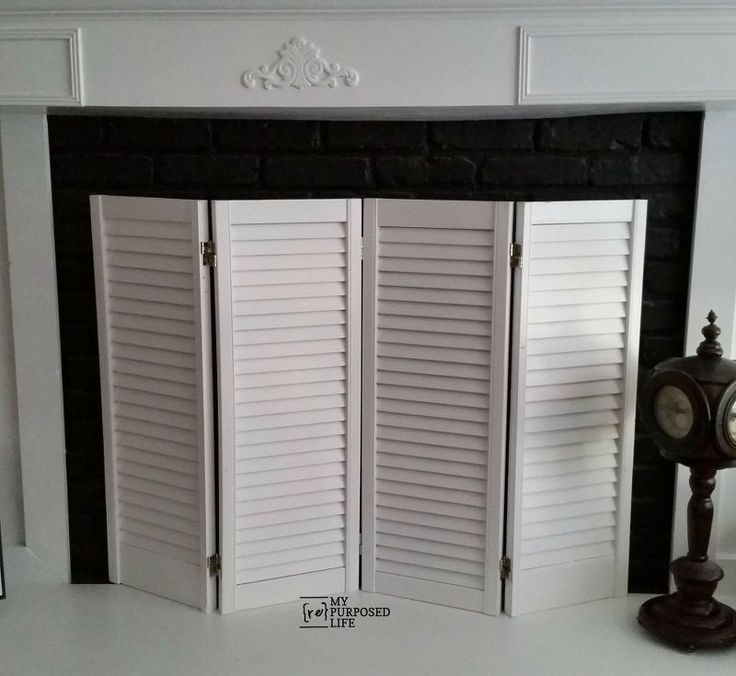 Fun and Easy Fireplace Screen11 best diy fireplace screens images on Pinterest   Diy fireplace  . Wooden Fireplace Screens. Home Design Ideas