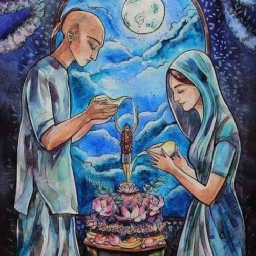 """Give Now! At the time of death everything will be taken away from you anyway BUT if you give back to Krishna while you are still alive you will get credit for this! Rukmini Devi Dasi: """"Coff…"""