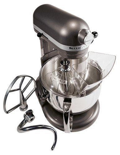 KitchenAid KP26M1XPM Professional 600 Series 6-Quart Stand Mixer, Pearl Metallic for $346.14