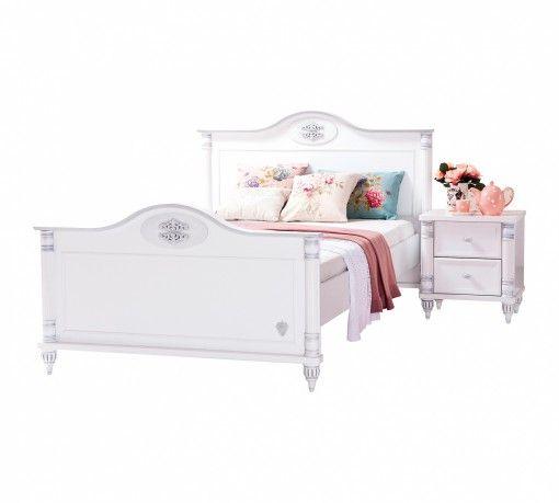 Romantic Ifjúsági Ágy 120*200 cm #gyerekbútor #bútor #desing #ifjúságibútor #cilekmagyarország #dekoráció #lakberendezés #termék #ágy #gyerekágy #romantic #lány #hercegnő
