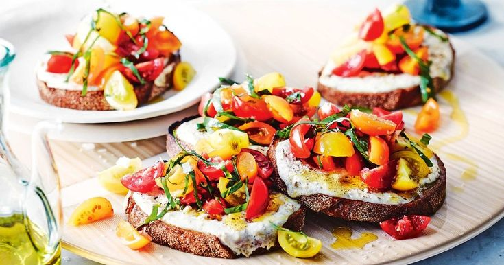 Serve these alluring bruschetta as part of an intimate dinner for two.