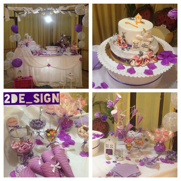 Bonbons and candies, a shabby table with purple decorations, ideas for a purple party / confettata con caramelle e confetti, un tavolo #shabby con decorazioni ispirate a varie sfumature di Viola , ideali per un party a tema viola ! #cresima #partyideas #party #pinkparty #purpleparty #candies #bonbons #shabbychic