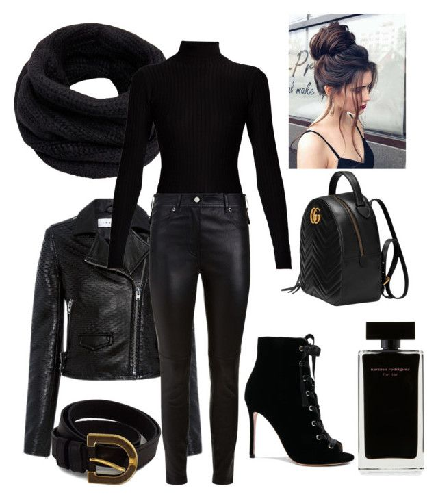 """""""Untitled #18"""" by alisha-marley on Polyvore featuring Helmut Lang, IRO, Fendi, Acne Studios, Givenchy, Gianvito Rossi, Gucci and Narciso Rodriguez"""