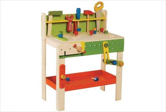 Grand établi en bois pour enfant EverEarth