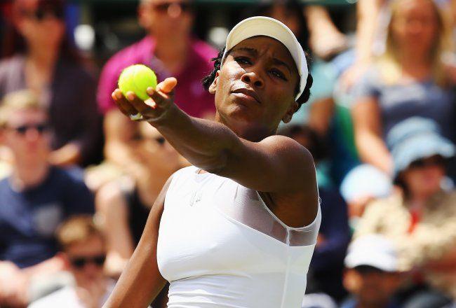 Wimbledon 2014: Day 3 Results, Venus Williams beats Kurumi Nara to notch her 73rd #Wimbledon win, edging her to within 1 of Steffi Graf's haul (74)