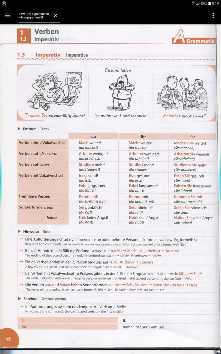 133 best Deutsch A1-A2 images on Pinterest | Deutsch lernen ...