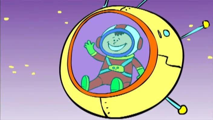 Als je naar de ruimte wil, moet je met een raket. Er zijn mensen die op de maan hebben gelopen. En weet je wie het eerste levende wezen in de ruimte was? Een hond!