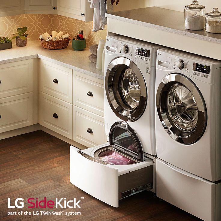 Meet your LG Front Load's new best friend. #LGSideKick http://www  Washer  And DryerHome AppliancesLaundry ...